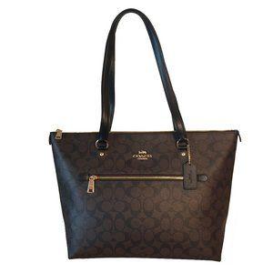 Coach Gallery tote/shoulder bag - Brown/Black